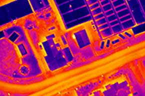 Thermal aerial drone, Thermal Savings UK