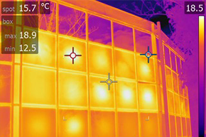 Thermal Image Comparison, Thermal Savings UK